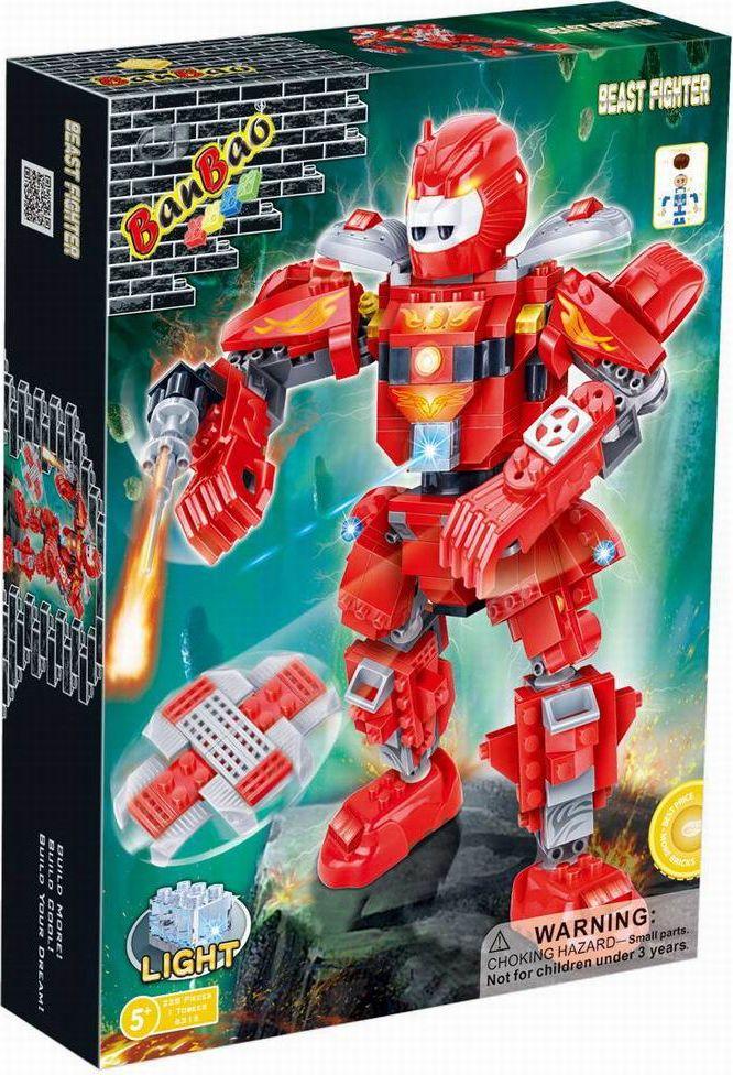 BanBao Пластиковый конструктор Робот электромеханический 228 деталей купить электромеханический корректор фар эмкф41