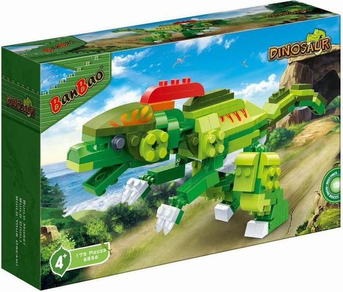 цены BanBao Пластиковый конструктор Динозавр 175 деталей