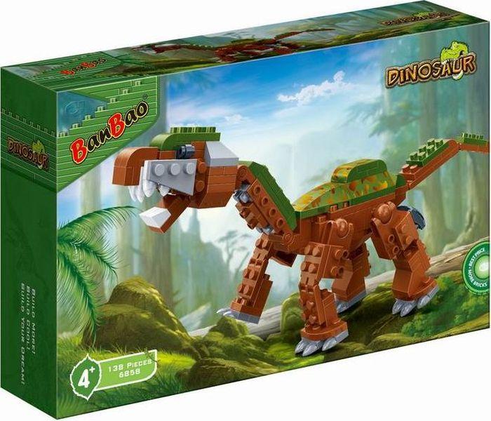 BanBao Пластиковый конструктор Динозавр 138 деталей