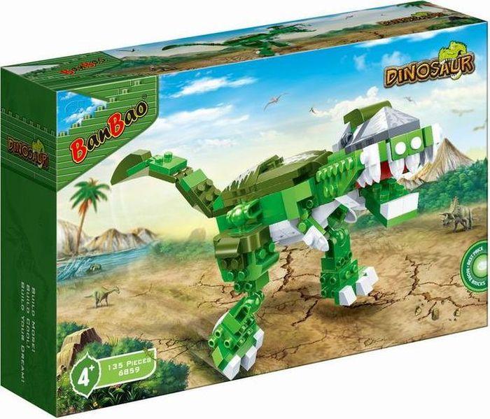 BanBao Пластиковый конструктор Динозавр 135 деталей banbao пластиковый конструктор истребитель 155 деталей