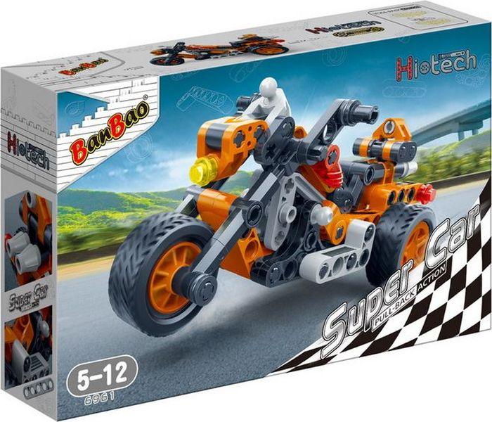 BanBao Пластиковый конструктор Мотоцикл 118 деталей