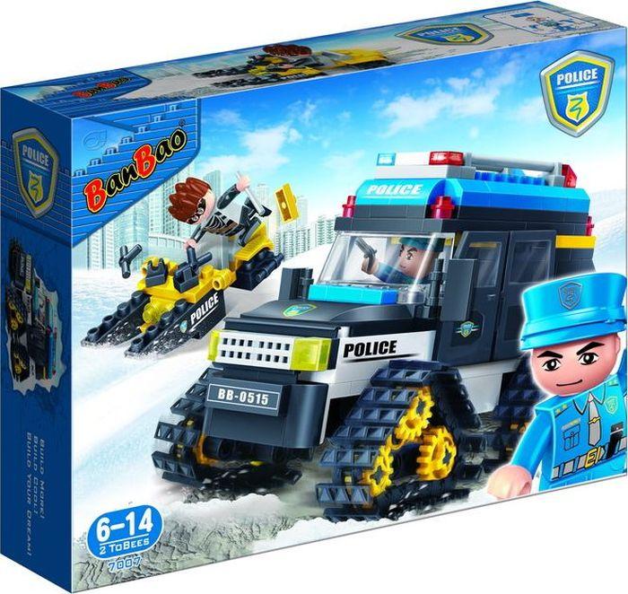 BanBao Пластиковый конструктор Полицейский вездеход 315 деталей - Конструкторы