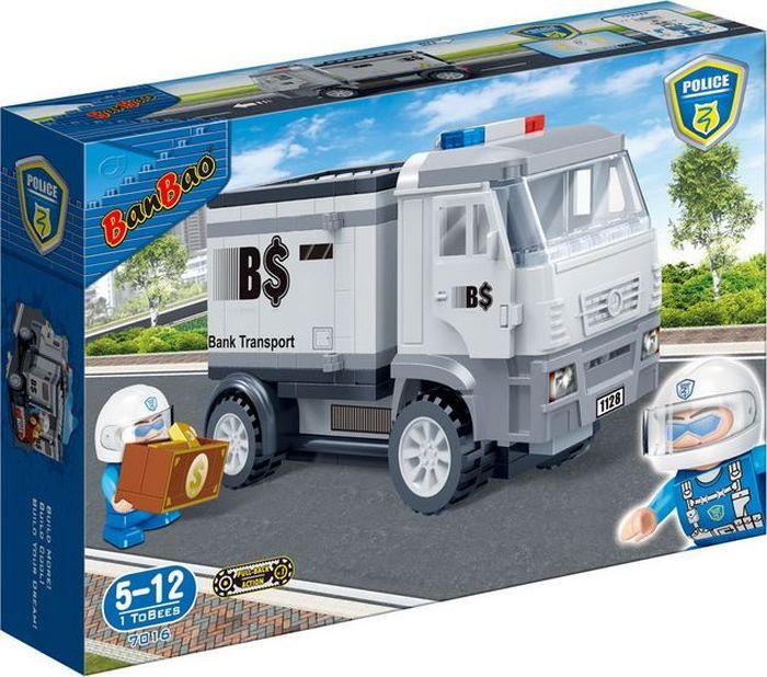 BanBao Пластиковый конструктор Инкассаторская машина 158 деталей banbao пластиковый конструктор истребитель 155 деталей