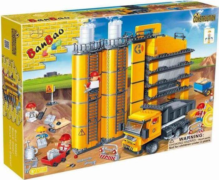 BanBao Пластиковый конструктор Строительный 552 детали banbao строительный 552 детали 8532