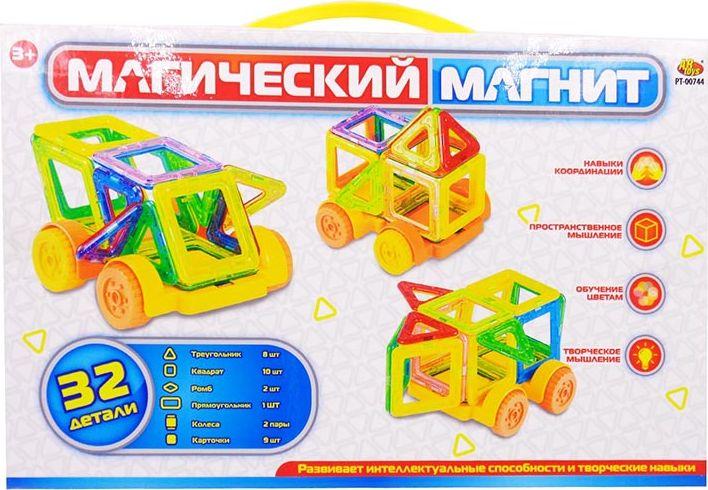 ABtoys Магнитный конструктор Магический магнит 32 детали - Конструкторы