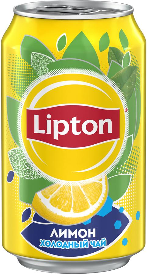 Lipton Ice Tea Лимон холодный чай, 0,33 л lipton липтон чай черный чай теплый чай мешок 100г 50