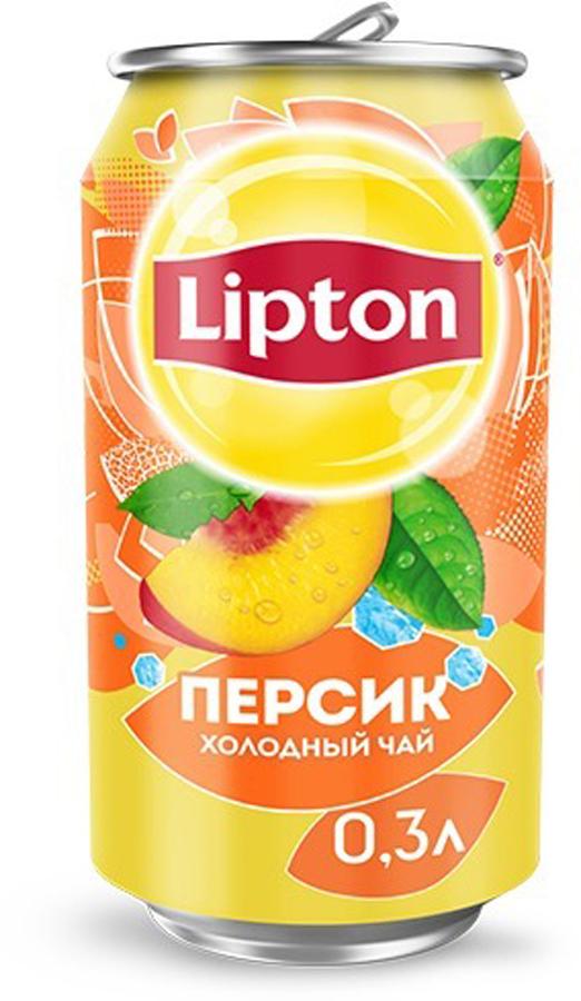 Lipton Ice Tea Персик холодный чай, 0,33 л lipton лимон холодный чай 0 33 л