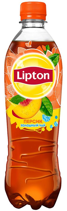 Lipton Ice Tea Персик холодный чай, 0,5 л lipton черный чай bombay bazaar 20 шт
