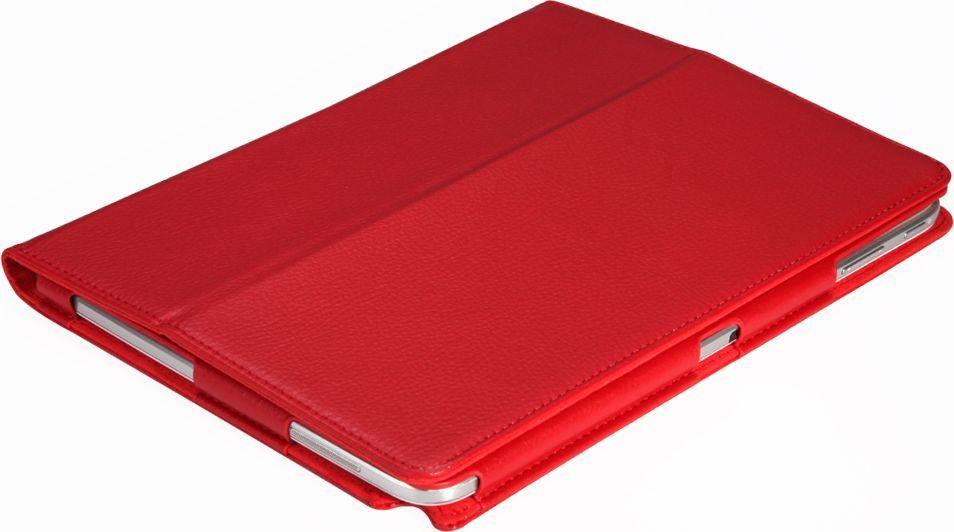 IT Baggage чехол для Lenovo Tab 4 10 (TB-X304L), RedITLNT410-3Чехол для планшета IT Baggage надежно защищает планшет от случайных ударов и царапин, а так же от внешних воздействий, грязи, пыли и брызг. Крышка используется как подставка по устройство. Чехол обеспечивает свободный доступ ко всем функциональным кнопкам.