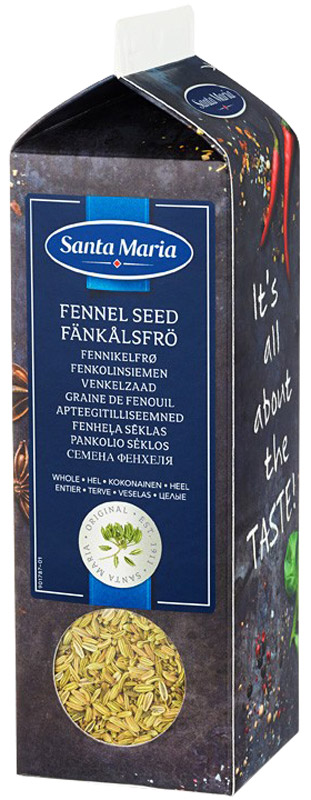Santa Maria Фенхель семена, 300 г santa maria густые кокосовые сливки 1 л