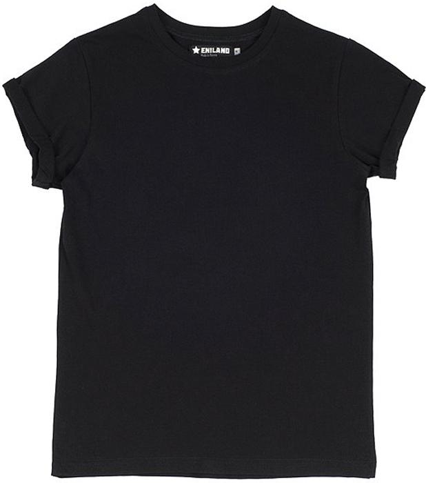 Футболка женская Eniland, цвет: черный. 12111536. Размер M (44) eniland мужчинам