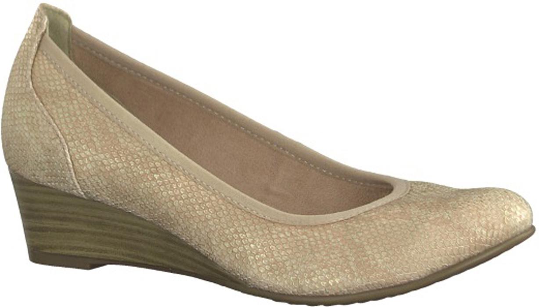 Туфли женские Tamaris, цвет: бежевый. 1-1-22304-20-511/220. Размер 36