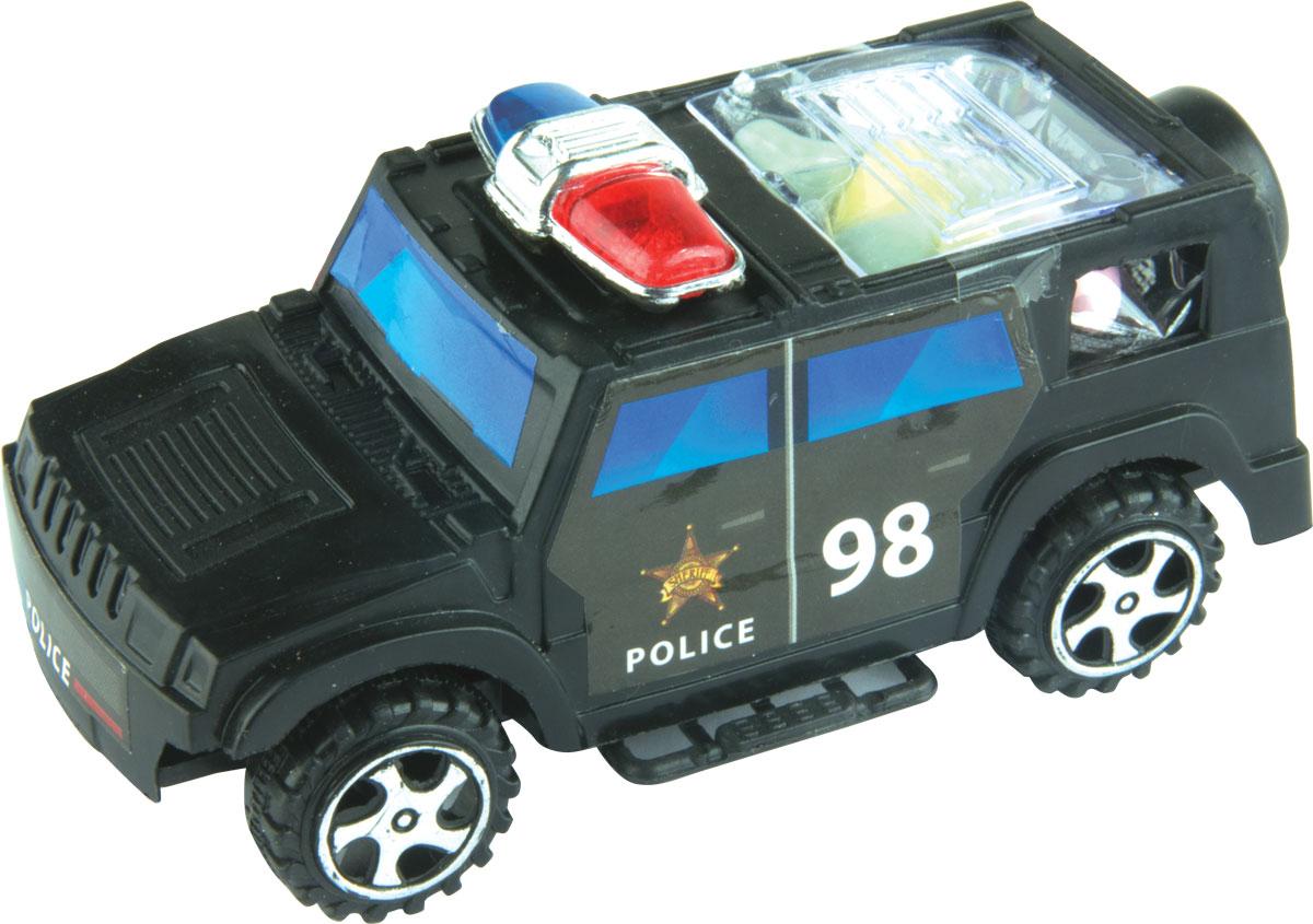 Полицейская машина фруктовое драже с игрушкой, 5 г maoam фруктовое драже со вкусом фруктов и колы 200 г