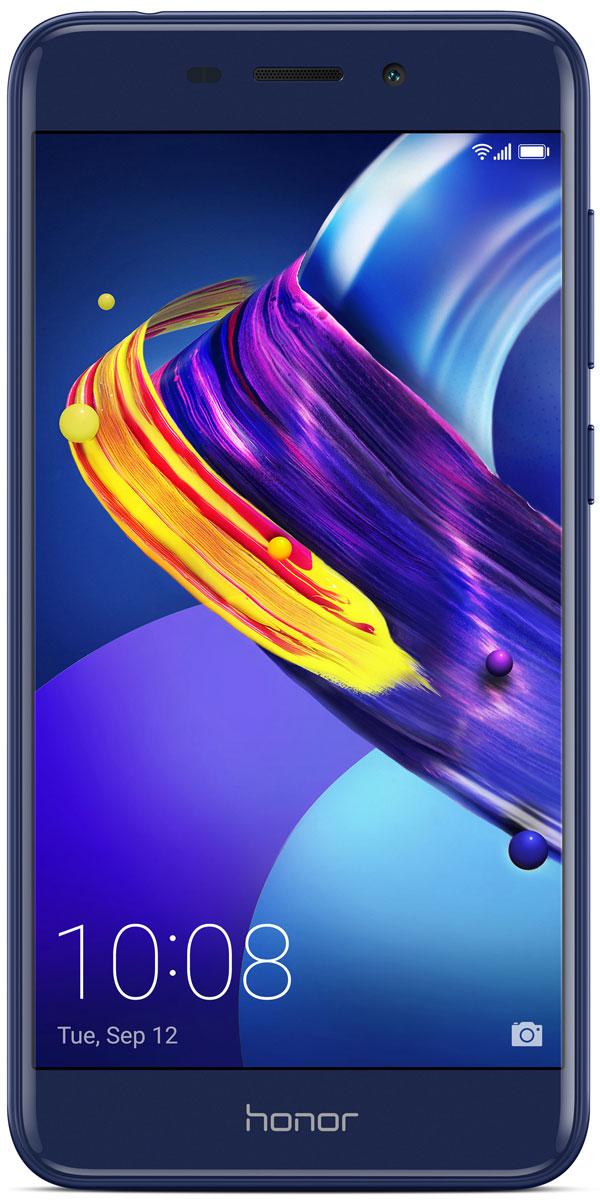 Huawei Honor 6C Pro, Blue51091VTYHonor 6C Pro притягивает взгляды! Тонкий корпус, скругленные края и 2.5D стекло подчеркивают изящность форм и компактный размер. Новый стильный и элегантный смартфон станет вашим умным помощником.Привлекательный дизайн – это результат кропотливой работы, состоящей из 13 этапов. 8 слоев покрытия и тончайшая лазерная гравировка обеспечивают гладкую и приятную на ощупь текстуру корпуса. Зеркальные боковые грани и матовые поверхности передней и задней панели создают удивительный контраст. Покрытие на боковые грани корпуса наносится с помощью специальной технологии вакуумного напыления с отражающим эффектом.Основная 13 МП камера с диафрагмой F2.2 и фронтальная 8 МП камера с поддержкой функции Украшение помогут создать настоящие фотошедевры. Разнообразные возможности съемки позволят запечатлеть все важные моменты вашей жизни.3 ГБ оперативной памяти, 32 ГБ встроенной памяти и поддержка карт памяти microSD (до 128 ГБ), а также мощный 8-ядерный процессор обеспечивают высокую производительность смартфона в любых ситуациях.Новый интерфейс EMUI 5.1 предлагает более 2000 системных функций в 100 сценариях использования, поддерживает умное распределение ресурсов системы и оптимизацию ее работы.Батарея 3000 мАч с удельной энергоемкостью 650 Вт*ч/л и технология энергосбережения SmartPower 5.0 обеспечивают эффективное энергопотребление, оптимизируя расход энергии на программном и аппаратном уровнях.Смартфон поддерживает до 14 часов просмотра видео и до 72 часов прослушивания музыки без подзарядки.Разблокировка смартфона за 0,4 секунды одним касанием. Данные получены в лаборатории Honor. Фактическое время разблокировки может отличаться.Новейший алгоритм обработки отпечатков пальцев, разработанный компанией Huawei, обеспечивает высочайшую степень защиты.Телефон сертифицирован EAC и имеет русифицированный интерфейс меню и Руководство пользователя.