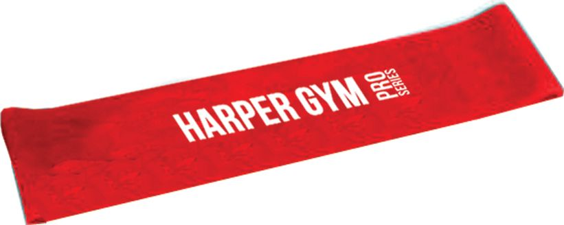 Эспандер для фитнеса Harper Gym NT961Q, замкнутый, цвет: красный, 10 кг все для фитнеса