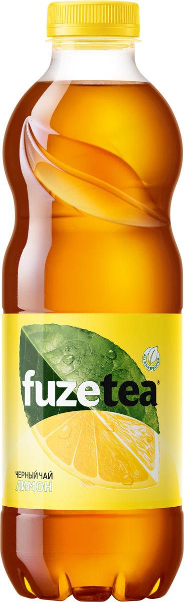 Fuzetea Лимон черный чай, 1 л fuzetea клубника малина зеленый чай 1 5 л