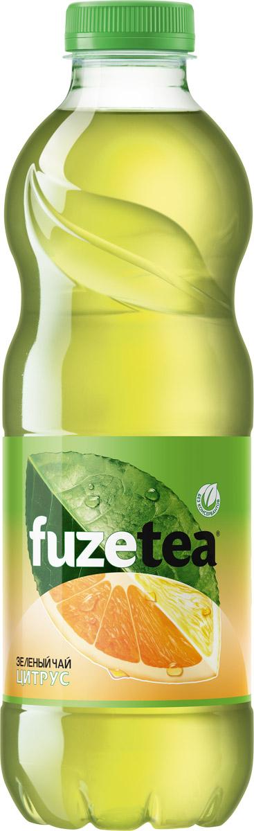 Fuzetea Зеленый цитрус зеленый чай, 1 л fuzetea клубника малина зеленый чай 1 5 л