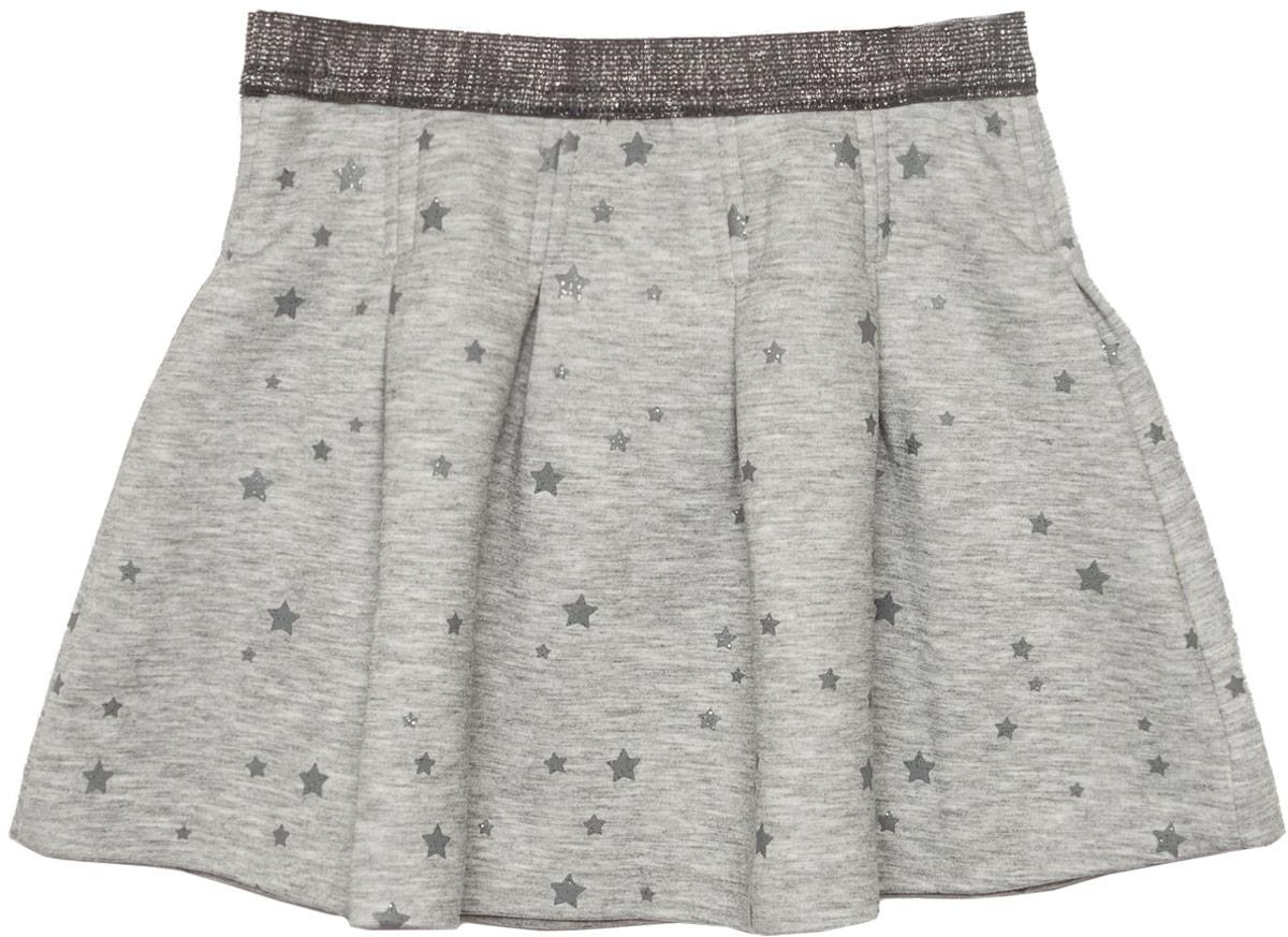 Юбка для девочки Sela, цвет: серый меланж. SKk-518/311-8110. Размер 92 цена