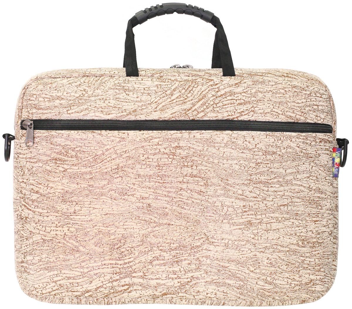 Vivacase Birch, Brown сумка для ноутбука 15,6VCN-CBR15-brСумка для ноутбуков диагональю 15.6 дюймов стильная и эргономичная. Стильный дизайн неизбежно привлечет внимание и поможет ее владельцу выделиться из толпы.Сумка для ноутбука сшита из микровелюровой мебельной ткани устойчивой к загрязнениям и истиранию. Не стоить бояться, что изделие быстро потеряет товарный вид. При изготовлении аксессуаров Vivacase используются только качественные материалы от проверенных поставщиков. Сумке не страшны ни грязь, ни осадки благодаря специальной водо - и грязеотталкивающей пропитке. Ее достаточно протереть влажной тряпочкой, чтобы избавиться от пятен.Основа сумки - специальный пористый противоударный материал двойного сложения, который отлично защищает ноутбук от тряски в дороге и механических повреждений. При этом сумка очень легкая и компактная. С ней удобно путешествовать. К сумке прилагается широкий наплечный ремень. Во вместительном внешнем кармане на молнии могут поместить документы формата А4 и другие аксессуары.