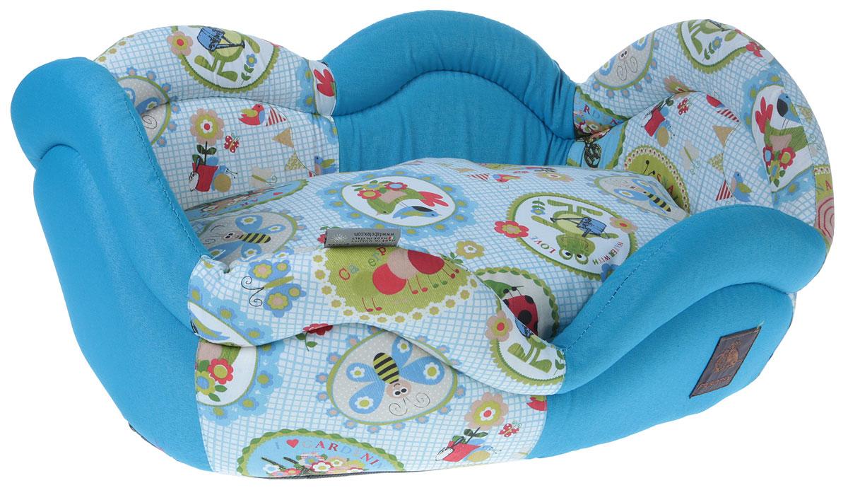 Лежак для животных Fabotex Rosae. Размер M лежак дарэлл хантер лось 1 с подушкой 45 33 14см