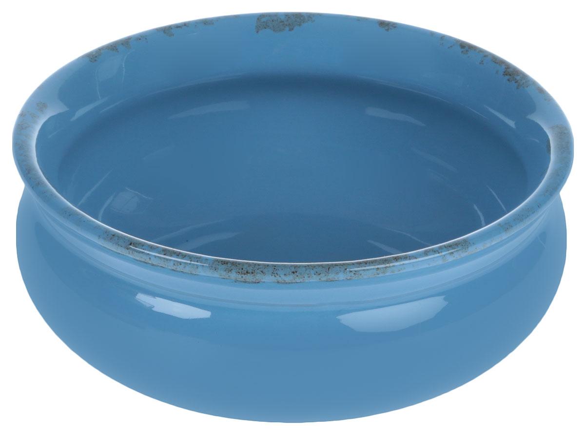 Тарелка глубокая Борисовская керамика Скифская, цвет: голубой, 500 млРАД14458194_голубойГлубокая тарелка Борисовская керамика Скифская выполненаиз керамики. Изделие сочетает в себе изысканный дизайн смаксимальной функциональностью. Она прекрасно впишется винтерьер вашей кухни и станет достойным дополнением ккухонному инвентарю.Такая тарелка подчеркнет прекрасный вкус хозяйки и станетотличным подарком.Можно использовать в духовке и микроволновой печи.Диаметр тарелки (по верхнему краю): 14 см.Объем: 500 мл