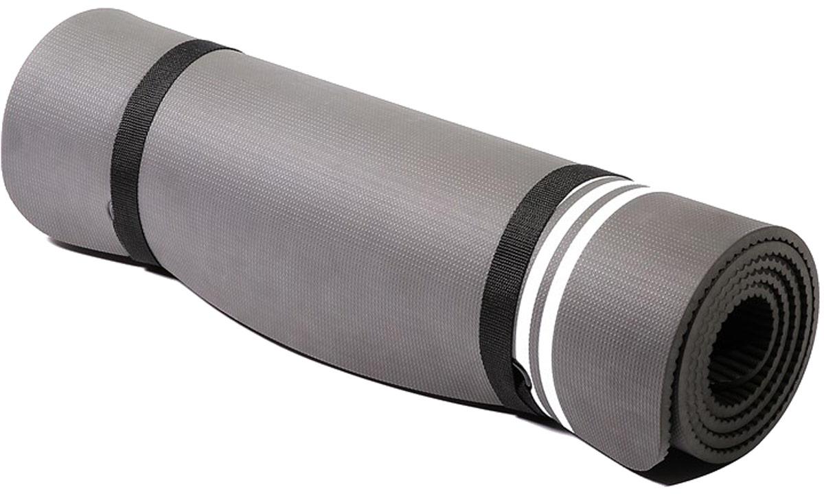 Тренировочный коврик для фитнеса Adidas Elite, цвет: белый, толщина 8 ммADMT-12236WHГлавная роль спортивного мата - обеспечивать комфорт и удобство выполнения упражнений на полу, и тренировочный мат Adidas Elite отлично справляется с этой задачей! Мат толщиной 8 мм обеспечивает мягкую упругую поддержку вашим рукам, ступням и коленям при любых тренировках.Мат сворачивается в компактный ролик, занимает мало места и очень удобен для переноски в спортивной сумке. Дизайн с тремя полосками не только узнаваем, но и имеет практическое применение на мате Elite - полосы могут быть использованы как направляющие линии для отстройки поз при растяжке и силовых упражнениях. Мат имеет длину 173 см, необходимую для движений лежа, и он достаточно мягок для силовых упражнений. Материал легко очистить.