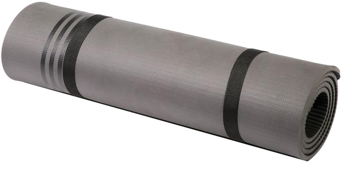 Тренировочный коврик для фитнеса Adidas Elite, цвет: черный, толщина 8 ммADMT-12236BKГлавная роль спортивного мата - обеспечивать комфорт и удобство выполнения упражнений на полу, и тренировочный мат Adidas Elite отлично справляется с этой задачей! Мат толщиной 8 мм обеспечивает мягкую упругую поддержку вашим рукам, ступням и коленям при любых тренировках.Мат сворачивается в компактный ролик, занимает мало места и очень удобен для переноски в спортивной сумке. Дизайн с тремя полосками не только узнаваем, но и имеет практическое применение на мате Elite - полосы могут быть использованы как направляющие линии для отстройки поз при растяжке и силовых упражнениях. Мат имеет длину 173 см, необходимую для движений лежа, и он достаточно мягок для силовых упражнений. Материал легко очистить.