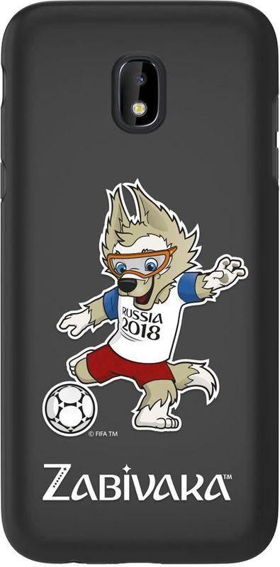 Deppa FIFA Забивака_2 чехол для Samsung Galaxy J3 (2017), Black