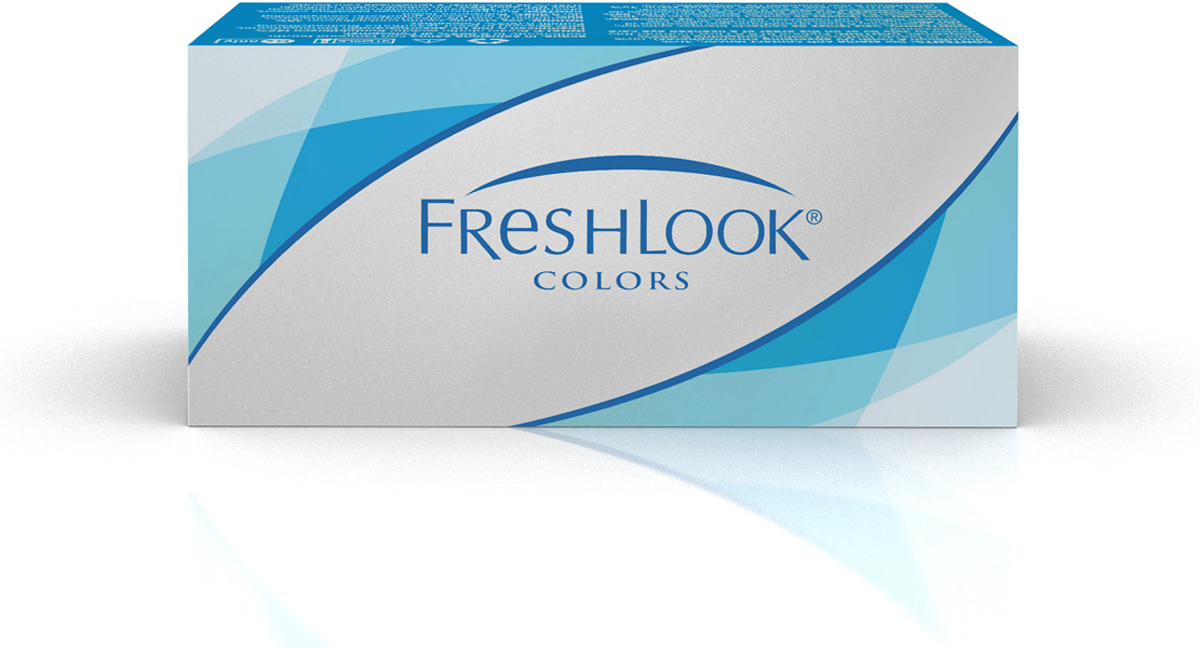 Аlcon контактные линзы FreshLook Colors 2шт -5.00 Blue