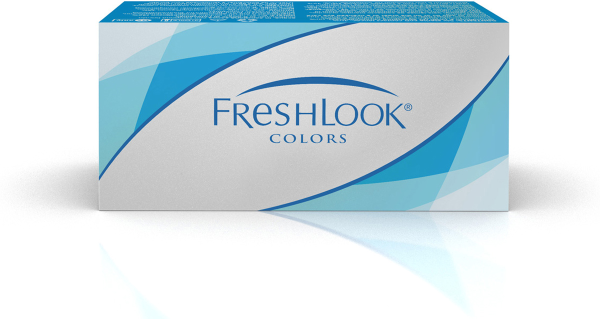 Аlcon контактные линзы FreshLook Colors 2шт -5.75 Blue x контактные линзы 365 day blue 4 0 365 days