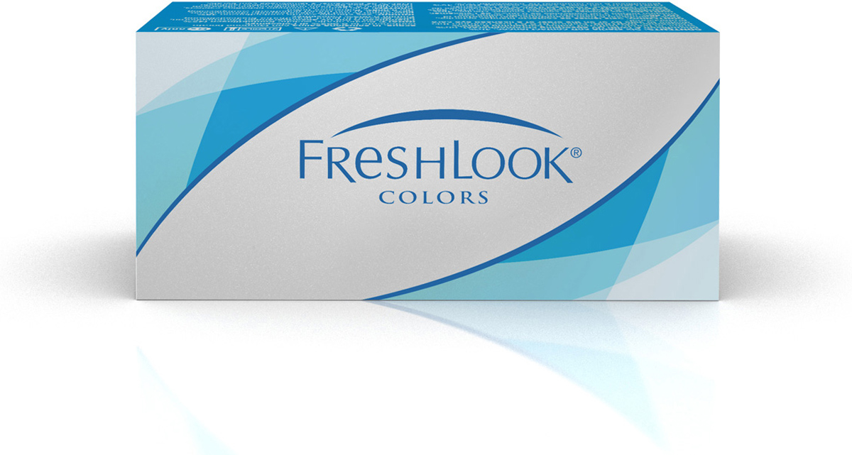 Аlcon контактные линзы FreshLook Colors 2шт -2.50 Green