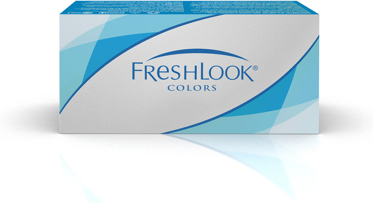 Аlcon контактные линзы FreshLook Colors 2шт -6.00 Sapphire Blue