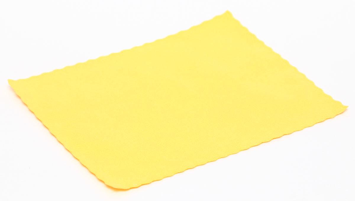 Proffi Home Салфетка для очков из микрофибры, цвет: желтый
