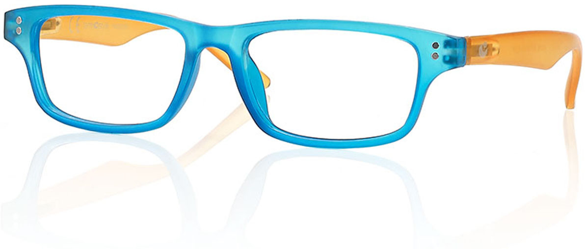 CentroStyle Очки для чтения +1.00, цвет: голубой очки корригирующие grand очки готовые 3 5 g1367 c4