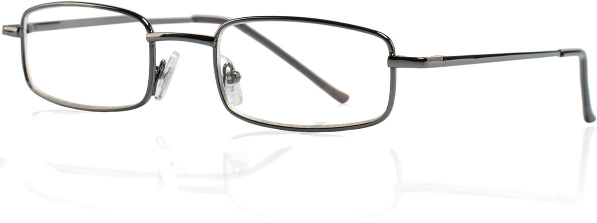 Kemner Optics Очки для чтения +1,5, цвет: темно-серый