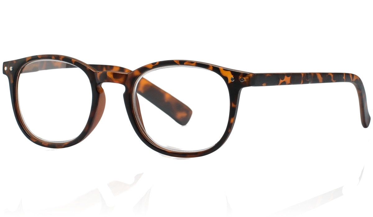Kemner Optics Очки для чтения +1,5, цвет: коричневый