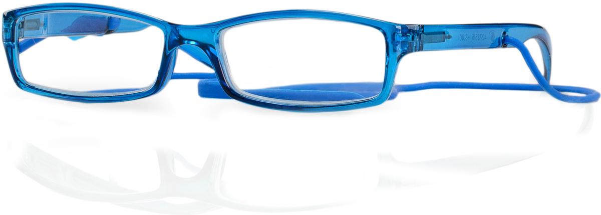 Kemner Optics Очки для чтения +2,0, цвет: синий42735/3Готовые очки для чтения - это очки с плюсовыми диоптриями, предназначенные для комфортного чтения для людей с пониженной эластичностью хрусталика. Компания Kemner Optics уже больше 20 лет поставляет готовую оптику на европейский рынок. Надежность и качество очков Kemner Optics проверено годами.