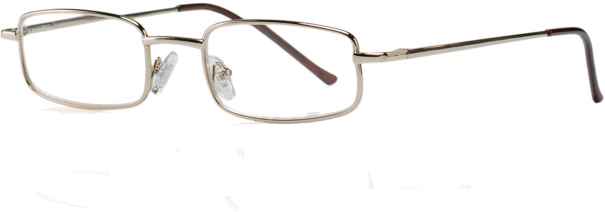 Kemner Optics Очки для чтения +3,0, цвет: золотой42309/11Готовые очки для чтения - это очки с плюсовыми диоптриями, предназначенные для комфортного чтения для людей с пониженной эластичностью хрусталика. Компания Kemner Optics уже больше 20 лет поставляет готовую оптику на европейский рынок. Надежность и качество очков Kemner Optics проверено годами.