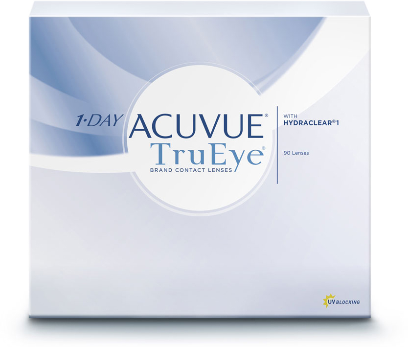 Johnson & Johnson Контактные линзы 1-Day Acuvue TruEye (90 шт. / 9.0 / - 2.25)