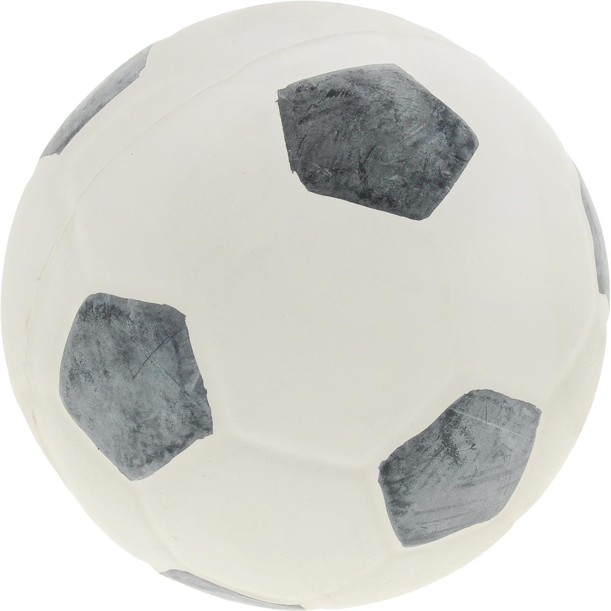Мяч для собак Camon Футбол, цвет: белый, черный, 10-15 смA050/A_футболИгрушка Camon Футбол для собак - это супер прочная, супер безопасная и супер увлекательная игрушка. Мячик при бросании отскакивает по непредсказуемой траектории. Что обеспечивает часы веселья и удовольствия. Запатентованный материал гарантирует, что ваша собака будет наслаждаться игрой с мячом в течение длительного времени.