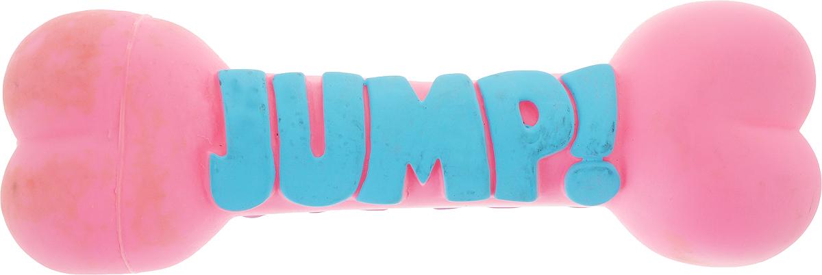 Игрушка для собак Camon Косточки Jump, цвет: розовый, длина 23 смAH302/B_розовыйИгрушка для собак Camon Косточки Jump изготовлена из качественных материалов. Изделие легко мыть и дезинфицировать.Игрушка станет отличным подарком активному питомцу, чьи хозяева заботятся о его здоровье и правильном развитии.