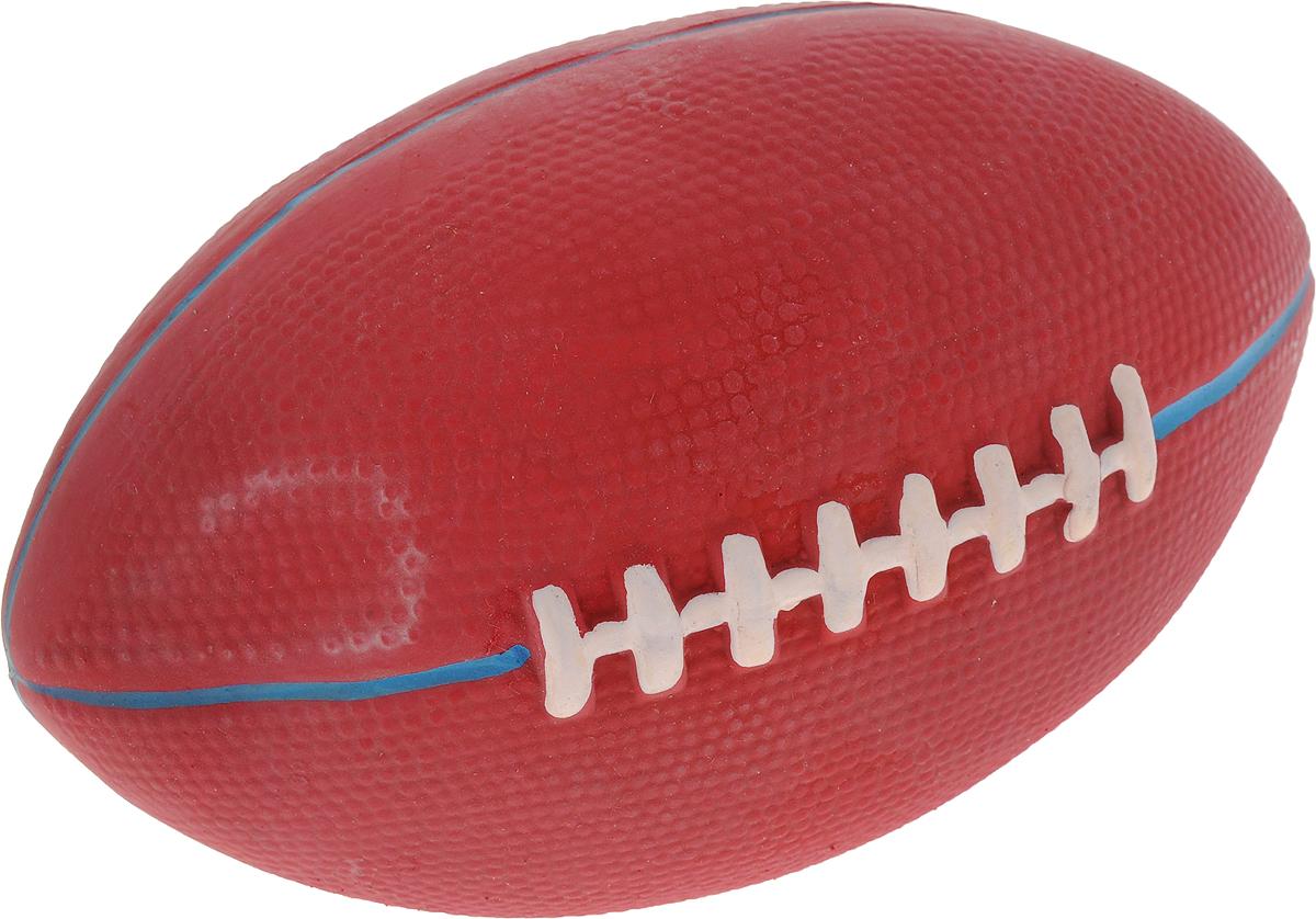 Мяч для собак Camon Регби, цвет: бордовый, 10-15 смA050/AИгрушка Camon Регби для собак - это супер прочная, супер безопасная и супер увлекательная игрушка. Мячик при бросании отскакивает по непредсказуемой траектории. Что обеспечивает часы веселья и удовольствия. Запатентованный материал гарантирует, что ваша собака будет наслаждаться игрой с мячом в течение длительного времени.