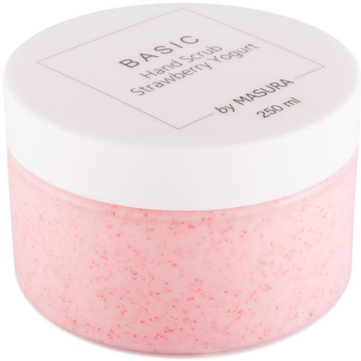 Masura Cкраб для рук «Strawberry Yogurt» с натуральным экстрактом клубники, ромашки и жожоба, 250 мл8005Cкраб для рук «Клубничный Йогурт» с натуральным экстрактом клубники, ромашки и жожоба. Стимулирует выработку коллагена, разглаживает мелкие морщинки, придает коже здоровый ухоженный вид. Подходит для чувствительной кожи.