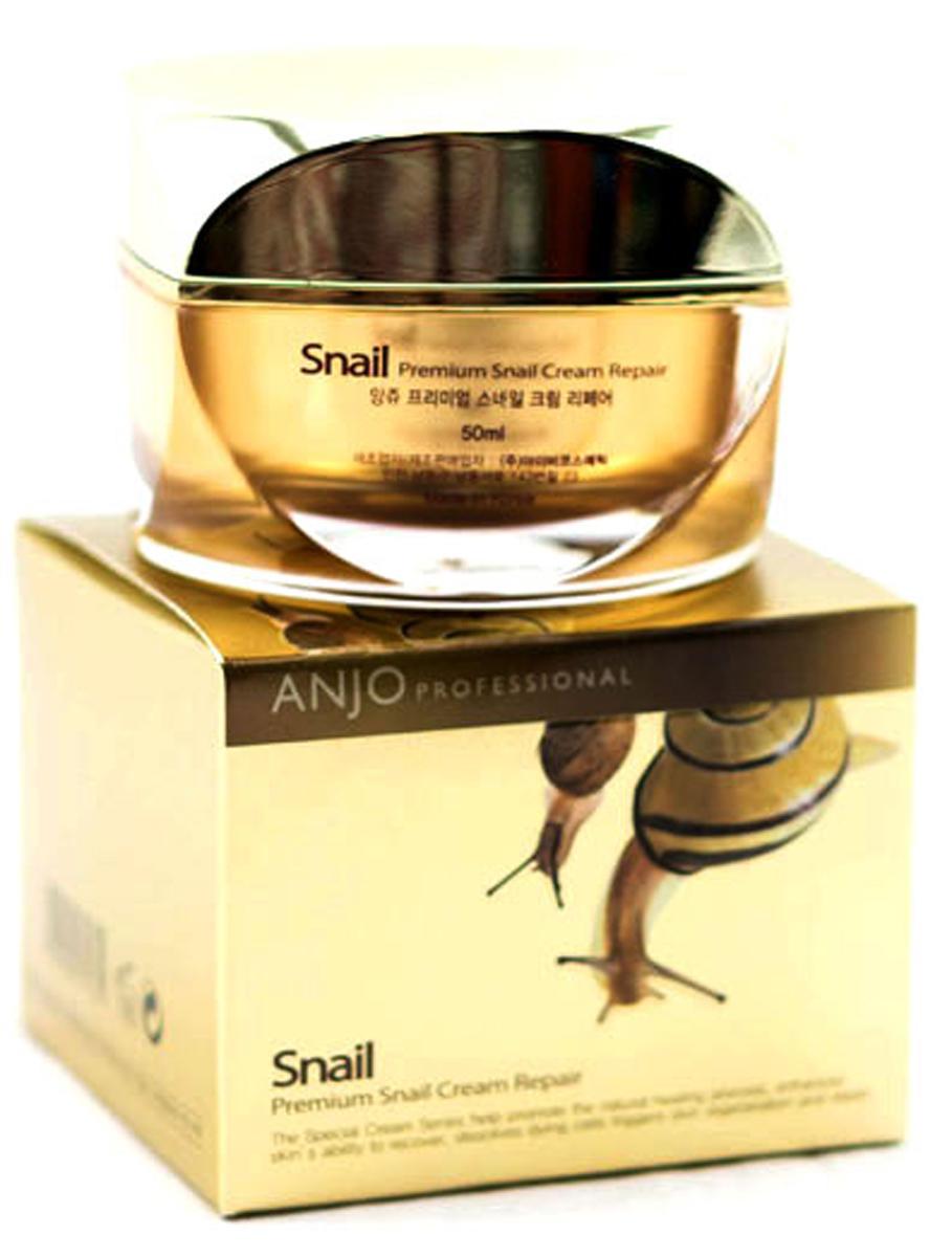 Anjо Professiona Восстанавливающий крем с высоким содержанием муцина улитки Premium Snail Cream Repair, 50 мл крем repair cream dr hadubadu