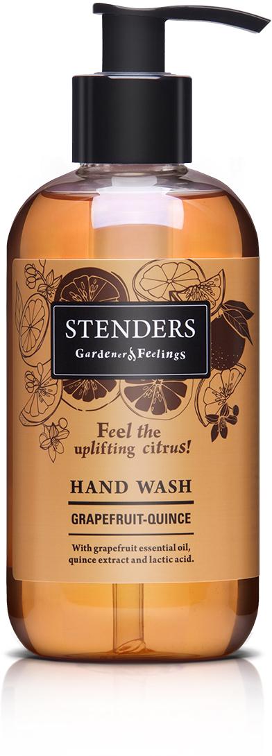 Stenders Жидкое мыло Грейпфрут, 245 млHNWH002Наше нежное ароматное мыло, обогащенное грейпфрутовым эфирным маслом, экстрактом цидонии и молочной кислотой, не только эффективно очистит кожу, но и сделает ее бархатной. После использования мыла на вашей коже останется незабываемый фруктовый аромат.