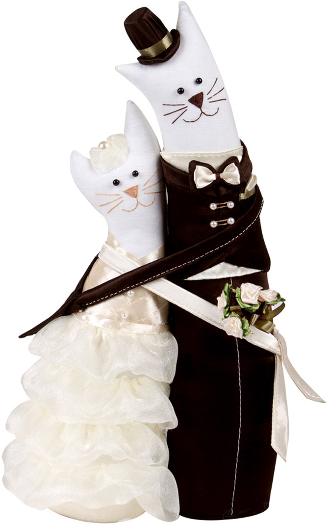 Набор для рукоделия Miadolla Коты-обнимашки свадебные. C-0152 свадебные платья