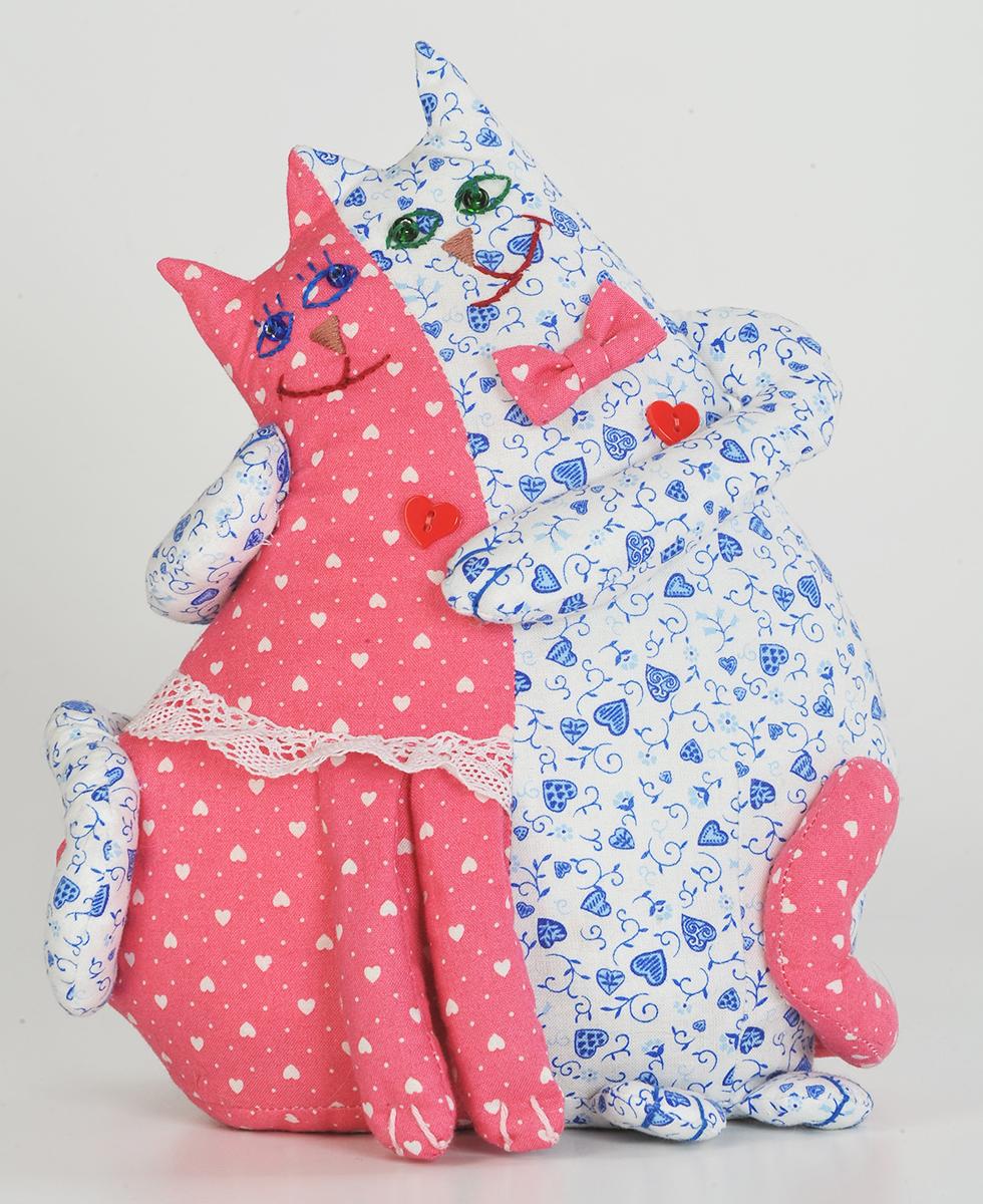 Набор для создания игрушки Перловка  Коты-неразлучники , высота 26 см - Игрушки своими руками