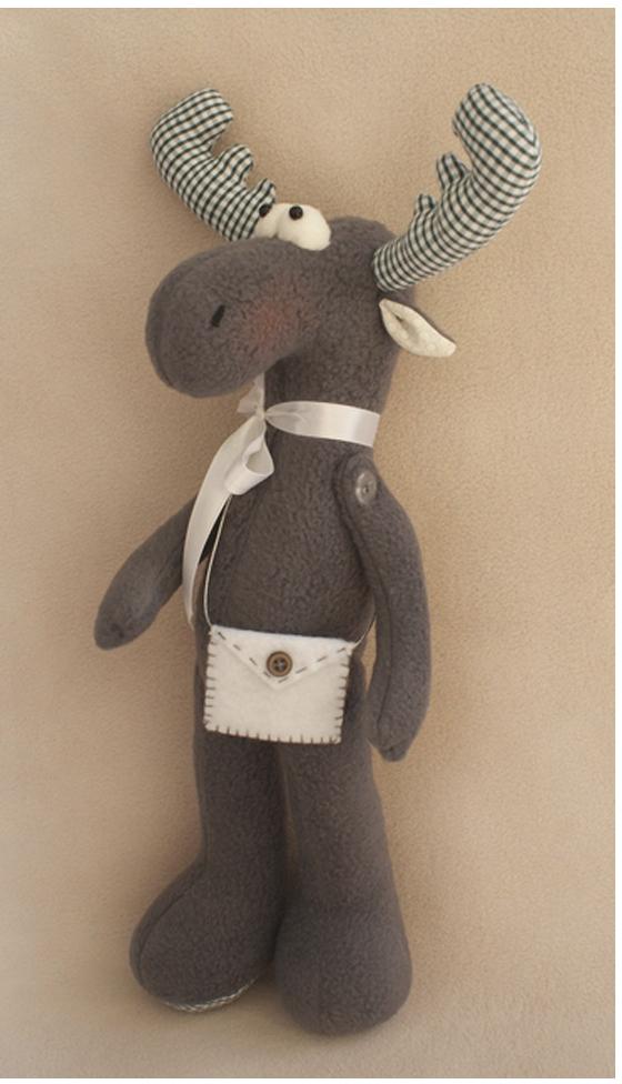 Набор для изготовления игрушки Ваниль Elk Story. Лось, 36 см. EL001 развивающие игрушки tolo toys лось первые друзья