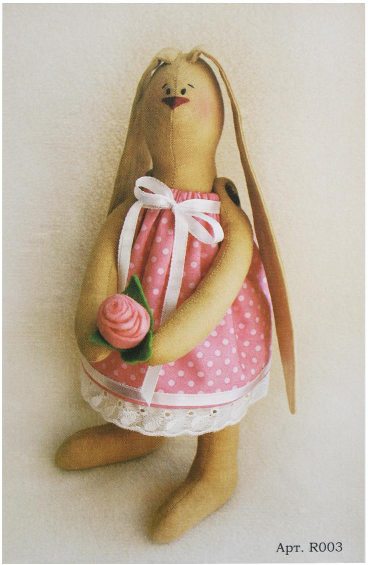Набор для изготовления игрушки Ваниль Rabbit'S Story, 29 см. R003 наборы для шитья ваниль набор для изготовления игрушки cat s story c005 котик с рыбкой 21 см