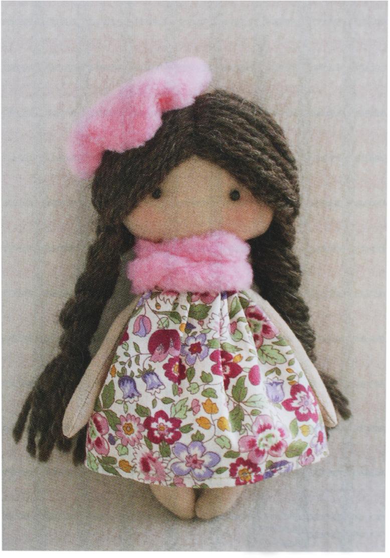 Набор для изготовления игрушки Ваниль Happy Hands. Софийка, высота 15 см набор для изготовления вальдорфской игрушки мальчик на жирафе 30 см